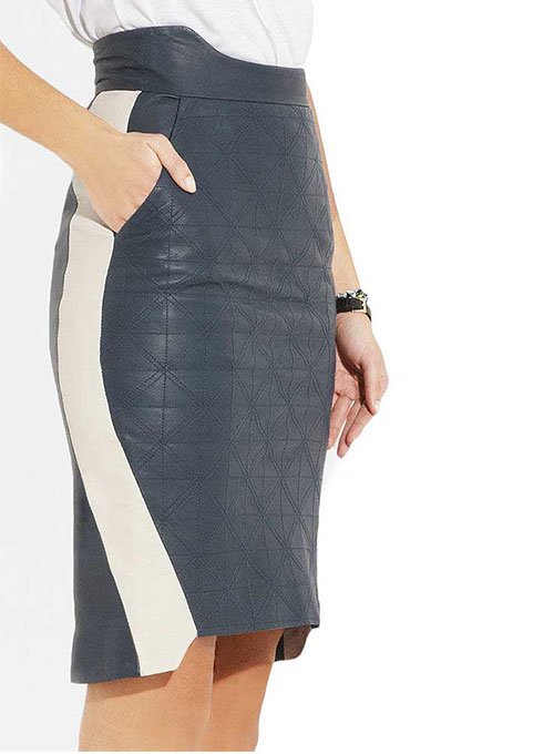 Downtown Leather Skirt - # 409 - 35 Colors