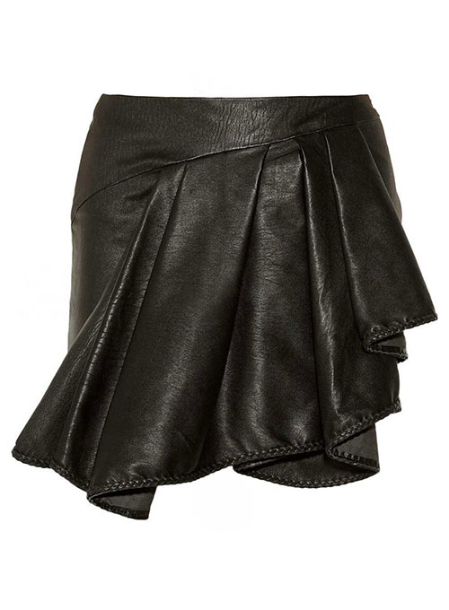 Eclair Leather Skirt - # 447 - 50 Colors