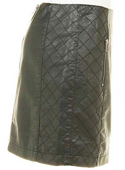 Eva Leather Skirt - # 401