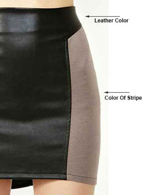Figurine Leather Skirt - # 156 - 35 Colors