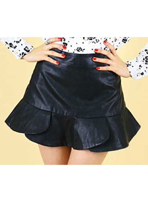 Flutter Leather Skirt - # 152 - 50 Colors