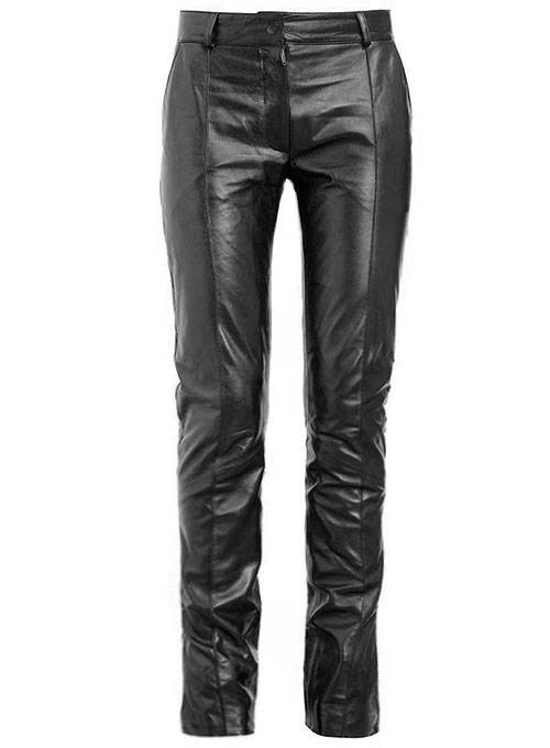 Front Crease Leather Pants Makeyourownjeans 174 Made To