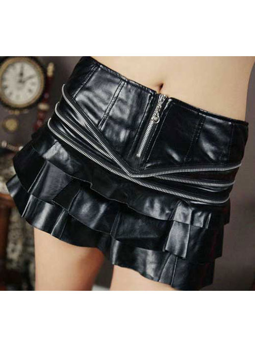 Glam Leather Skirt - # 414 - 50 Colors