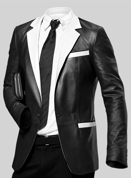Hampton Leather Blazer