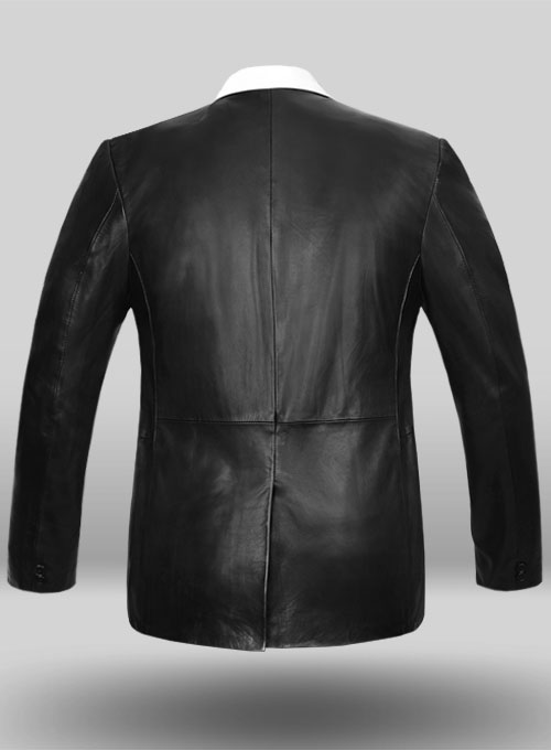 Hampton Leather Blazer - Click Image to Close