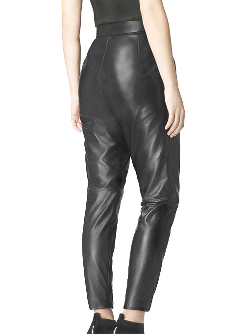 Harem Leather Pants