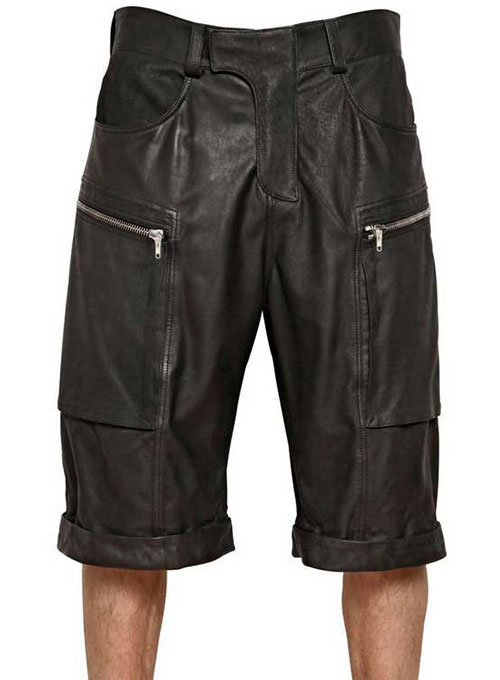 Havana Leather Shorts Style # 362