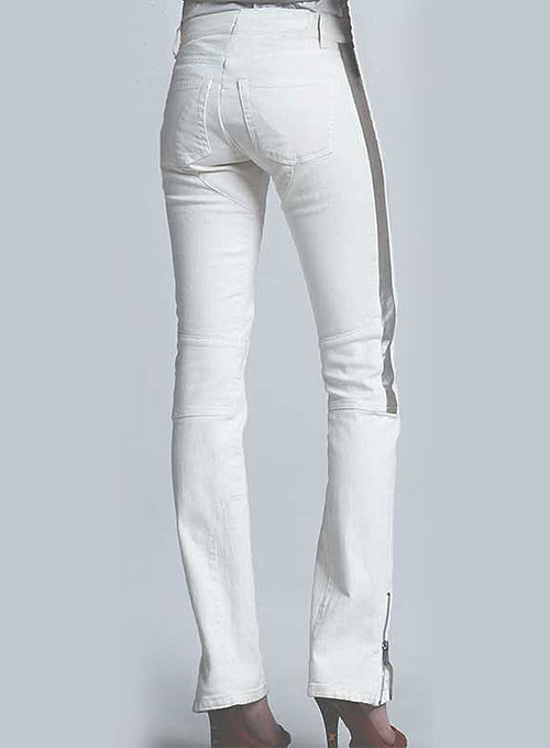 Leather  Biker Jeans - Style #511- 50 Colors