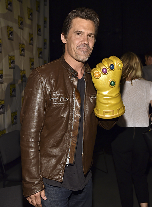 Josh Brolin Leather Jacket