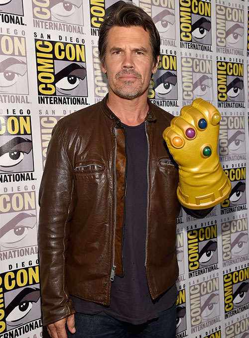 Josh Brolin Leather Jacket - Click Image to Close