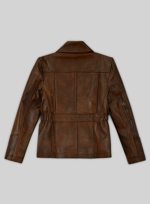 Katniss Hunger Games Kids Leather Jacket