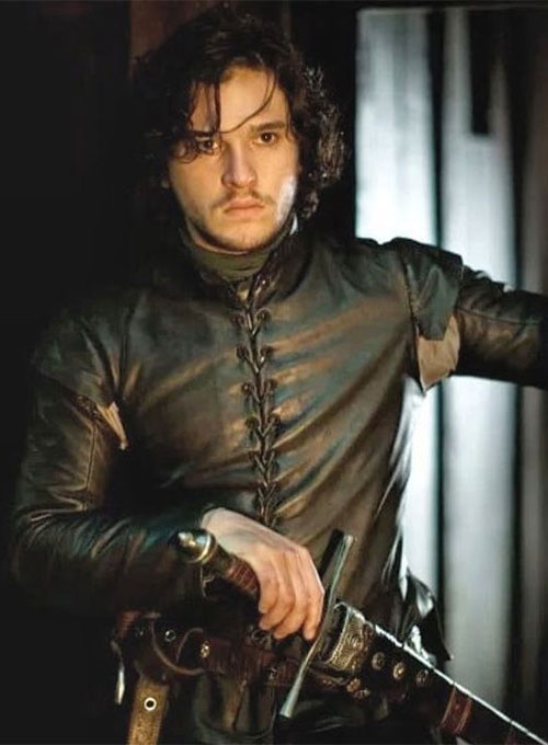 Kit Harington Game of Thrones Leather Jacket