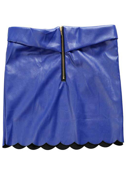 Lazer Leather Skirt - # 185 - 50 Colors