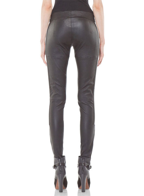 Leather  Biker Jeans - Style #510- 50 Colors