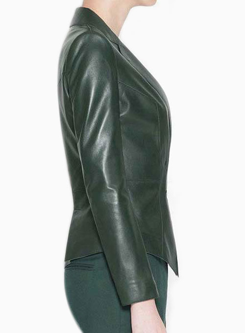 Leather Blazer - # 266 - 50 Colors