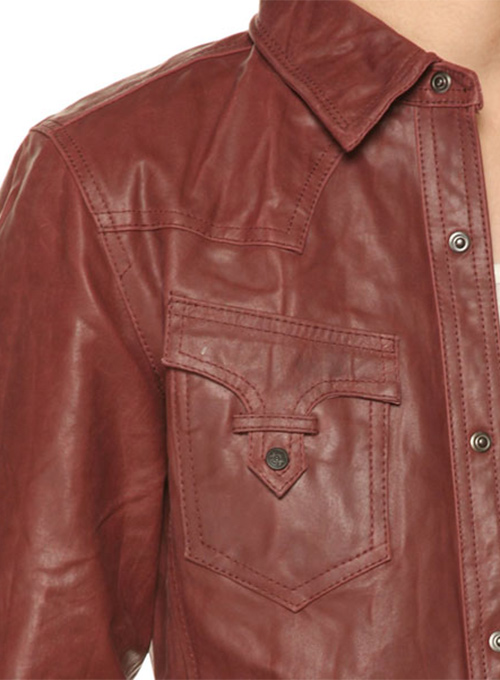 Leather Jacket #129- 50 Colors