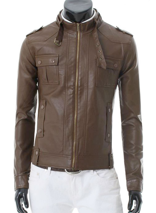 Leather Jacket #130- 50 Colors