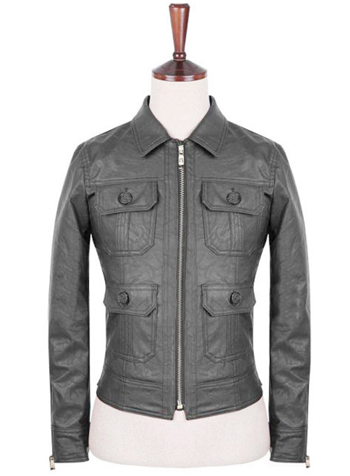 Leather Jacket #132- 50 Colors