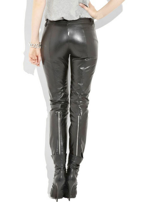 Leather  Biker Jeans - Style #508- 50 Colors