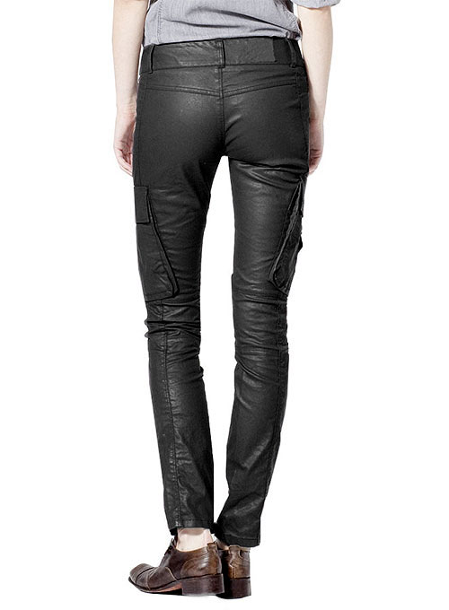 Leather  Biker Jeans - Style #509- 50 Colors