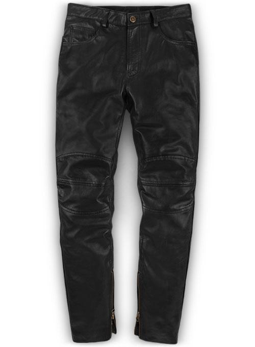 Leather Biker Jeans Style 1 Leather Biker Jeans