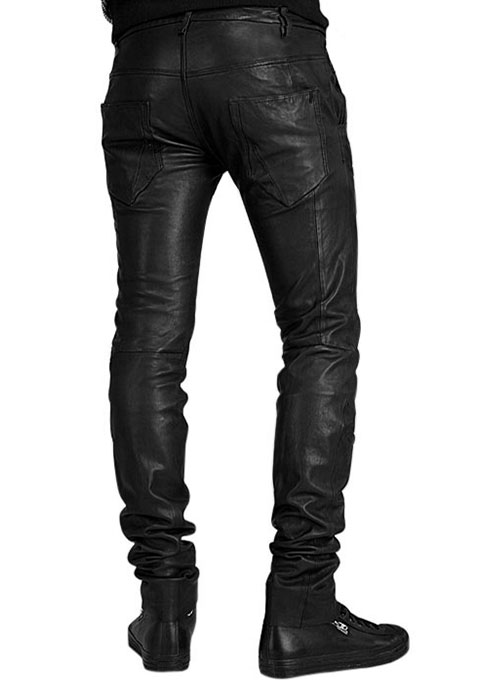 Leather Pants - Style #523 - Click Image to Close