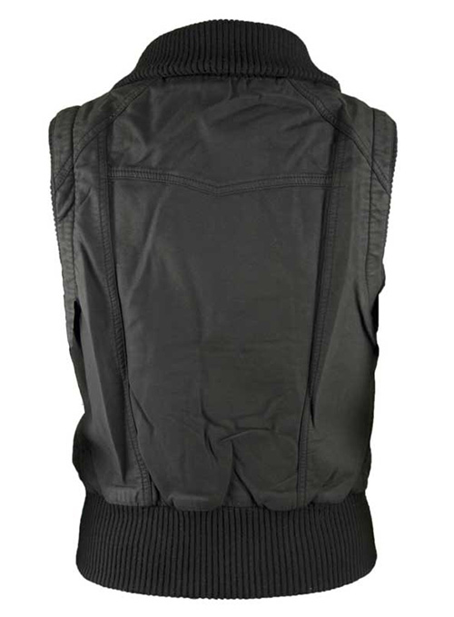 Leather Biker Vest # 314 - 50 Colors