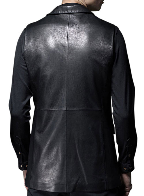 Leather Vest # 323 - Click Image to Close