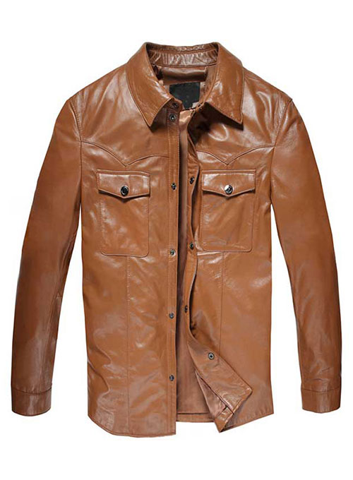 Leather Jacket # 610
