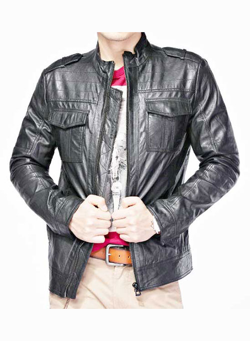 Leather Jacket # 615- 50 Colors