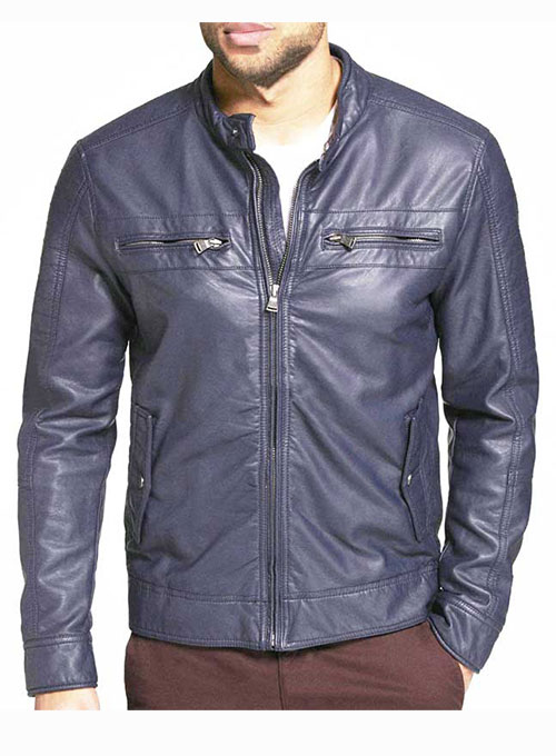 Leather Jacket # 616- 50 Colors