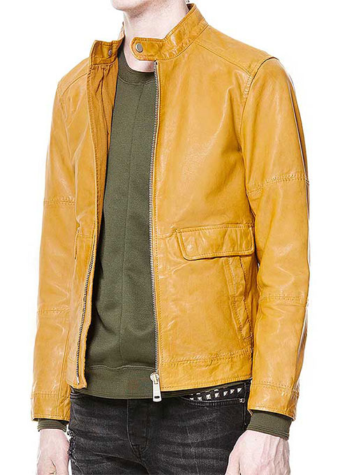 Leather Jacket # 619