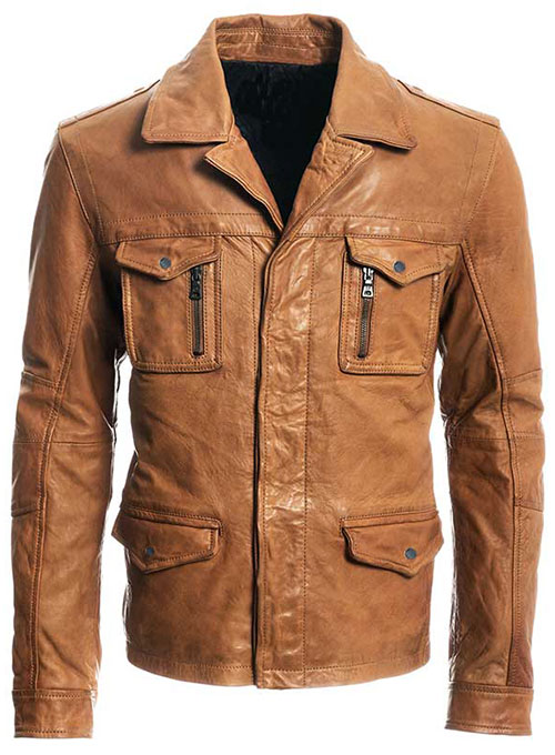 Leather Jacket # 621- 50 Colors