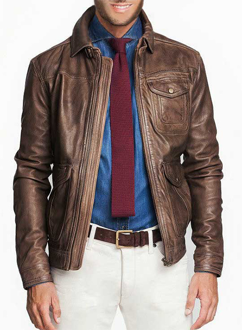 Leather Jacket  # 632
