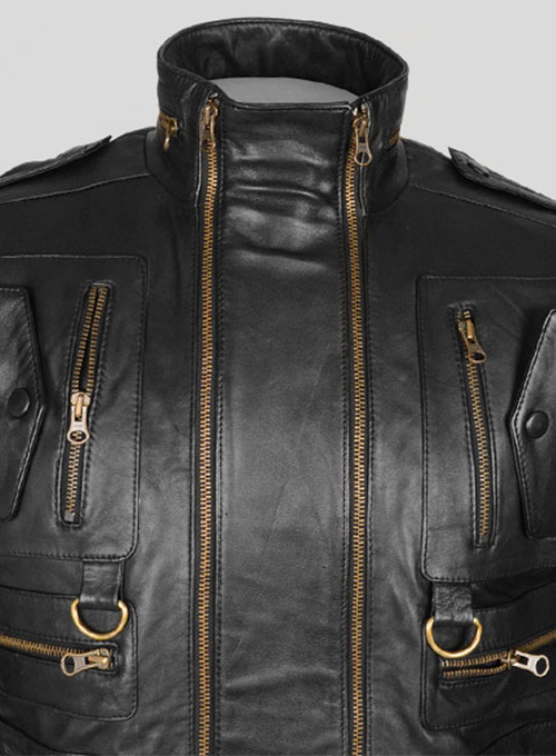 Leather Jacket # 641 - Click Image to Close