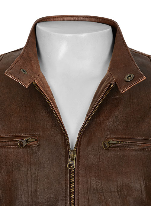 Leather Jacket # 654 - Click Image to Close