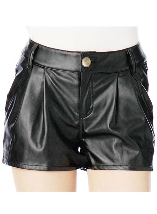 Leather Cargo Shorts Style # 366 - 50 Colors