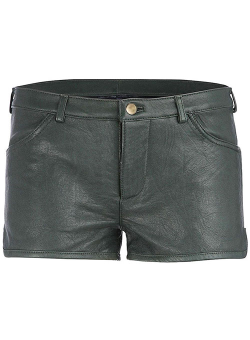 Leather Cargo Shorts Style # 371 - 50 Colors