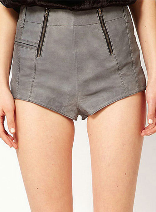 Leather Cargo Shorts Style # 372