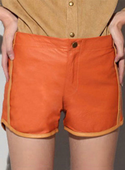 Leather Cargo Shorts Style # 373 - 35 Colors