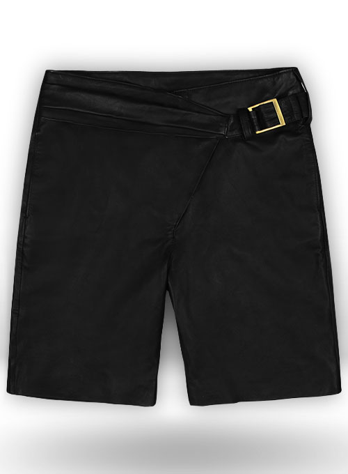 Leather Cargo Shorts Style # 377