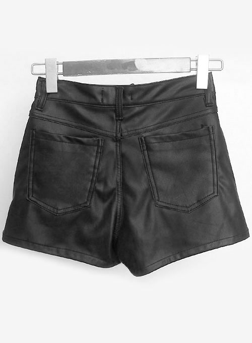 Leather Cargo Shorts Style # 378