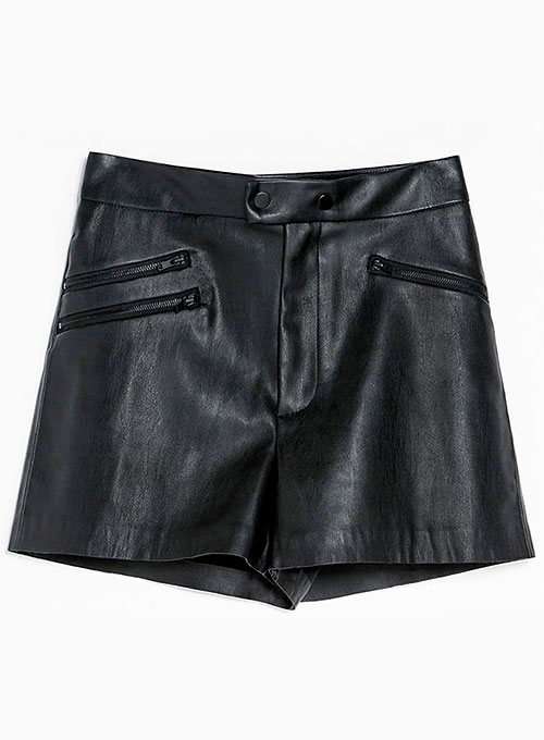 Leather Cargo Shorts Style # 380