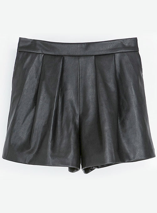 Leather Cargo Shorts Style # 381