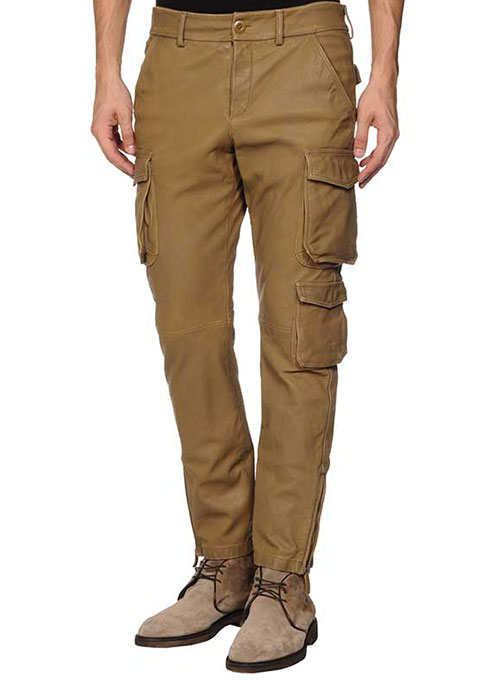 Leather Legacy Cargo Pants - 50 Colors