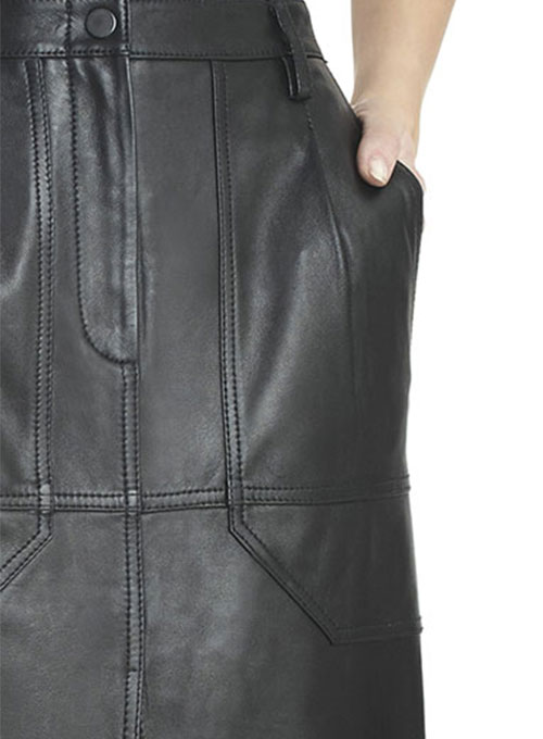 Mable Leather Skirt - # 191 - 50 Colors