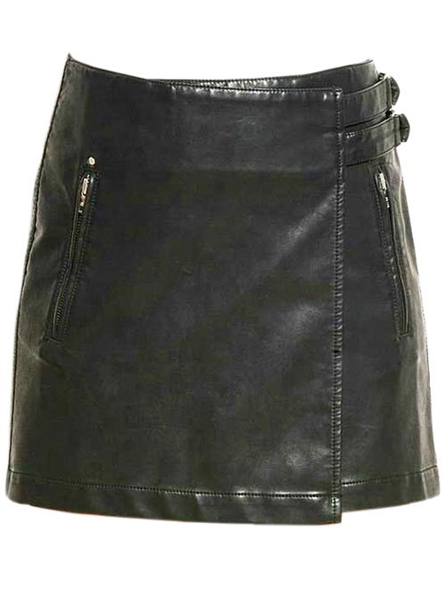 Martini Leather Skirt - # 169 - 50 Colors