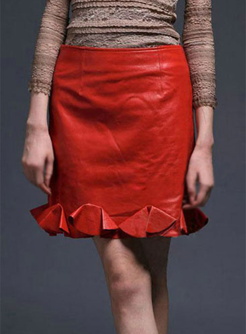 Mermaid Leather Skirt - # 178 - 50 Colors