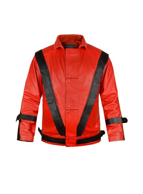 Michael Jackson Thriller Kids Leather Jacket