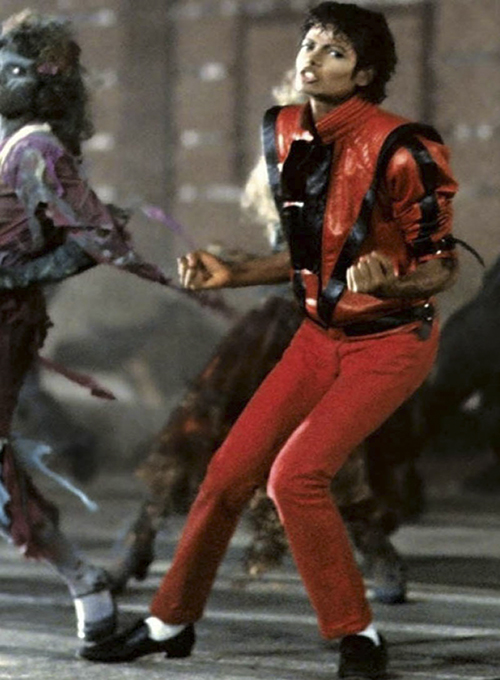 Michael Jackson Thriller Leather Jacket and Pants Set